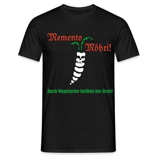 Memento Möhri - Männer T-Shirt