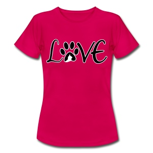 Cat Love Damen T-Shirt - Frauen T-Shirt