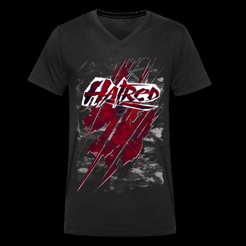 Hatred Shirt (Herren) - Männer Bio-T-Shirt mit V-Ausschnitt von Stanley & Stella