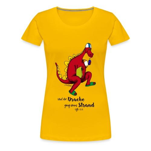 Der Drache 2 (Frauen) - Frauen Premium T-Shirt