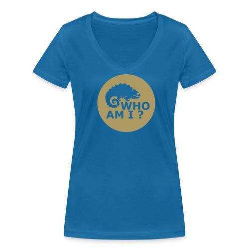 Who am I? -T-Shirt V - Frauen Bio-T-Shirt mit V-Ausschnitt von Stanley & Stella