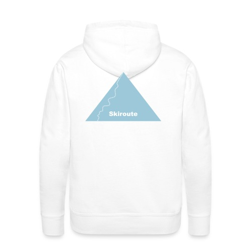 Skiroute - Männer Premium Hoodie