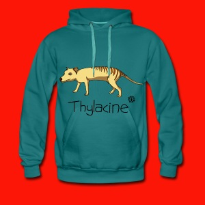 Thylacine Mens Hoodie - Men's Premium Hoodie