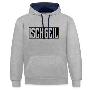 Isch Geil | Unisex Hoodie - Kontrast-Hoodie