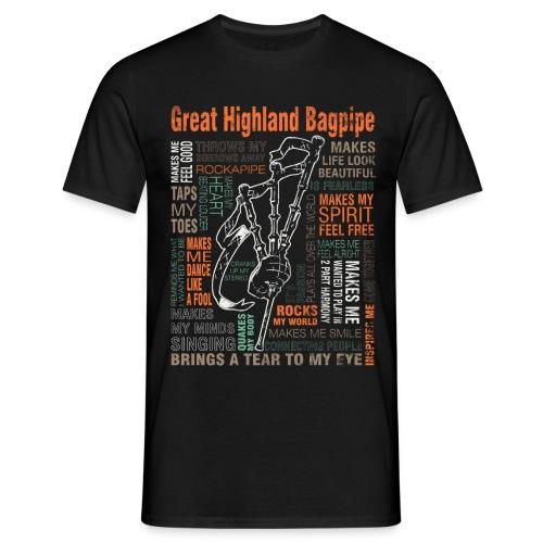 Pipe my life´o - Männer T-Shirt