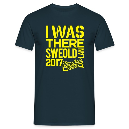 Swedisholdtimers | I WAS THERE - T-shirt herr