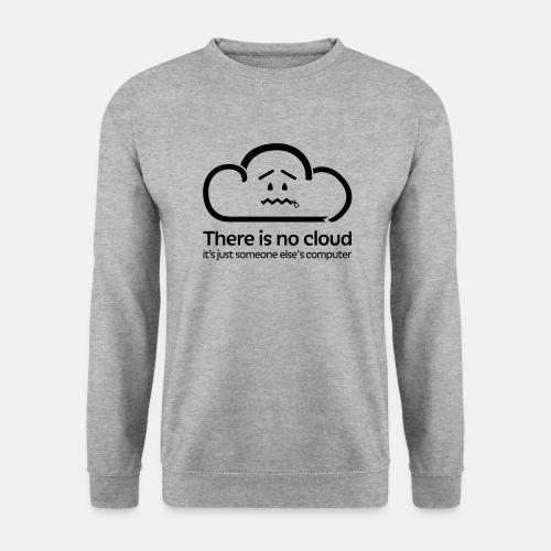 'There Is No Cloud' Jumper - Grey - Men's Sweatshirt