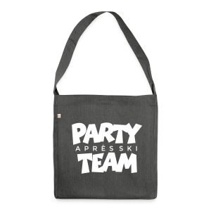 Après-Ski Party Team Recycling Tasche - Schultertasche aus Recycling-Material