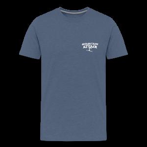 Mountain Attack (Vintage/Weiß) S-5XL T-Shirt - Männer Premium T-Shirt
