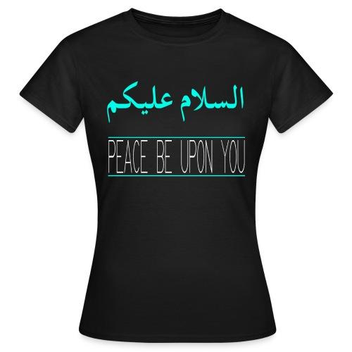 As-salaam T-shirt Black (Women) - Women's T-Shirt