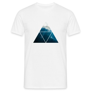 Triangle Forest - Männer T-Shirt