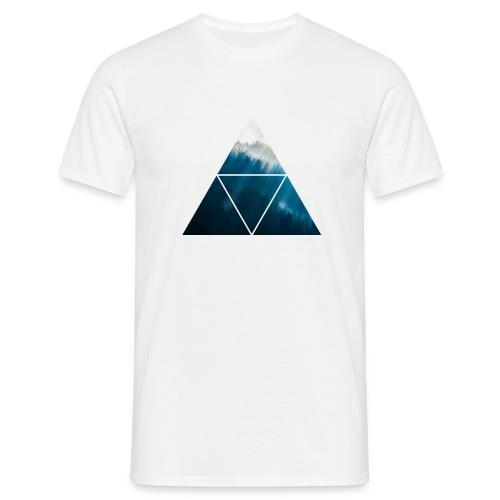 Triangle Forest - Männer T-Shirt