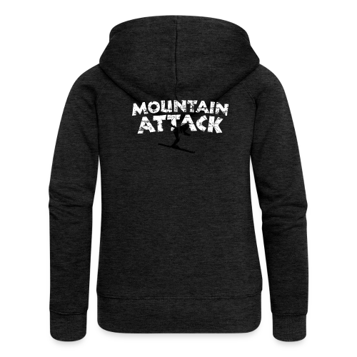 MOUNTAIN ATTACK Wintersport Ski Design (B&W)