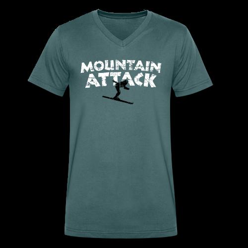 MOUNTAIN ATTACK Wintersport Ski Design (B&W)