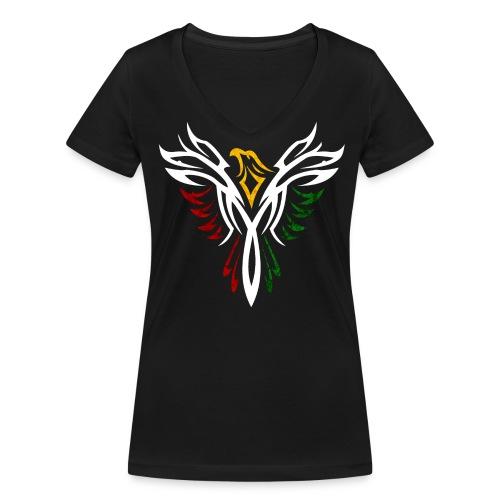 Phoenix T-Shirt - Frauen Bio-T-Shirt mit V-Ausschnitt von Stanley & Stella
