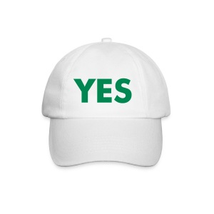 YES BASEBALL CAP (green) - Lippalakki