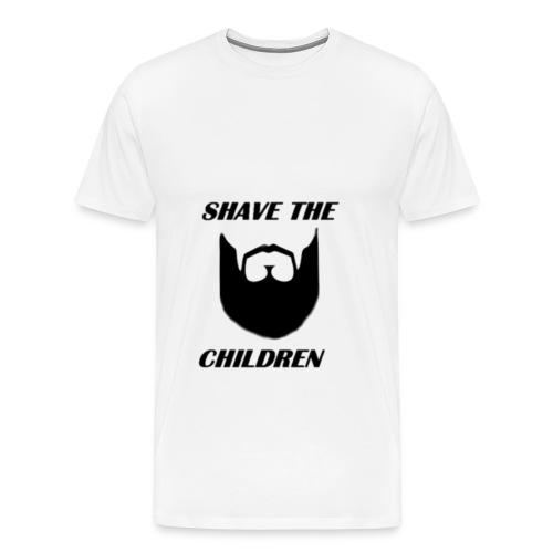 SHAVE THE CHILDREN  - Men's Premium T-Shirt