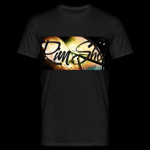 Rim Shot - Männer T-Shirt - Schwarz - Männer T-Shirt