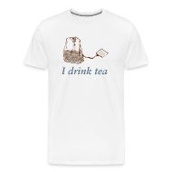 T-Shirts ~ Men's Premium T-Shirt ~ I drink tea