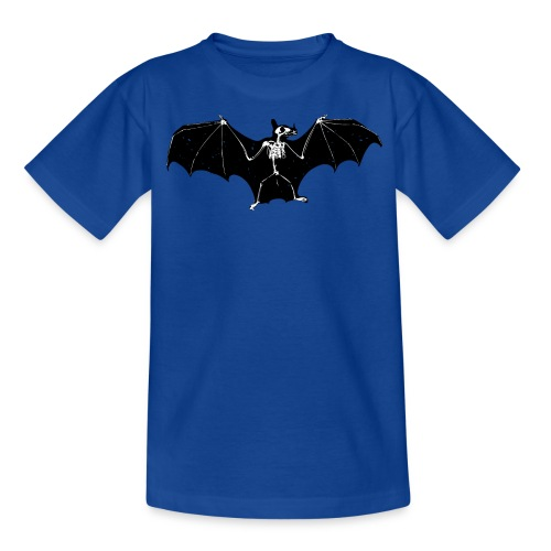 Halloween bat skeleton tshirt - Teenage T-shirt