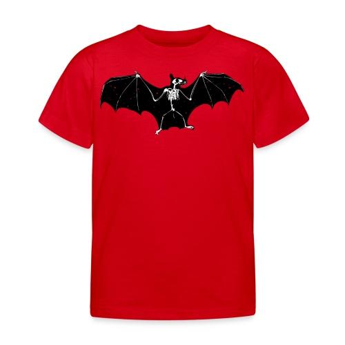 Halloween bat skeleton tshirt - Kids' T-Shirt
