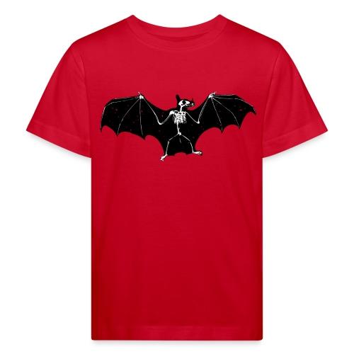 Halloween bat skeleton tshirt - Kids' Organic T-Shirt