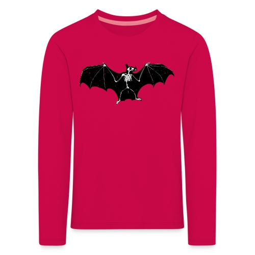 Halloween bat skeleton longsleeve - Kids' Premium Longsleeve Shirt