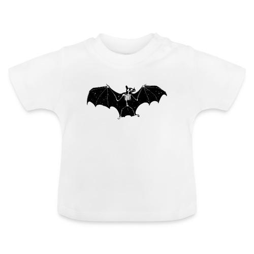 Halloween bat skeleton tshirt - Baby T-Shirt