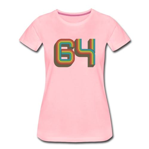 64 Forever - Women's Premium T-Shirt