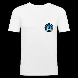Après-Ski Instructor (Blue) Snowboarder Slim Fit T-Shirt - Männer Slim Fit T-Shirt