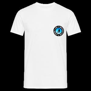 Après-Ski Instructor (Blue) Snowboarder T-Shirt - Männer T-Shirt