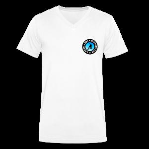 Après-Ski Instructor (Blue) Snowboarder V-Neck T-Shirt - Männer Bio-T-Shirt mit V-Ausschnitt von Stanley & Stella