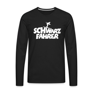 Schwarzfahrer Skifahrer Langarmshirt - Männer Premium Langarmshirt