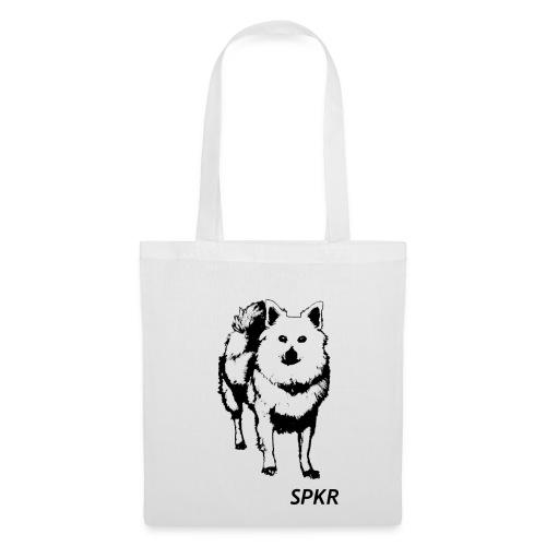 SPKR Shopping bag (black&white) - Stoffbeutel