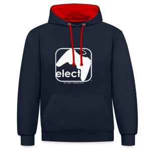 elect Hoodie - Contrast Colour Hoodie