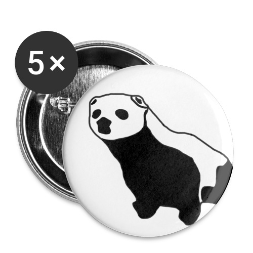 The Polecat Riots 25mm Pin Badge Set - 5 Badges - Buttons small 25 mm