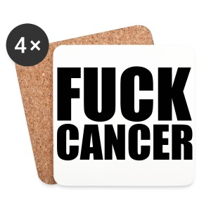 Our Cancer Support Cup Mats  - Coasters (set of 4)