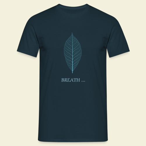 T-shirt Breath Bleu - T-shirt Homme