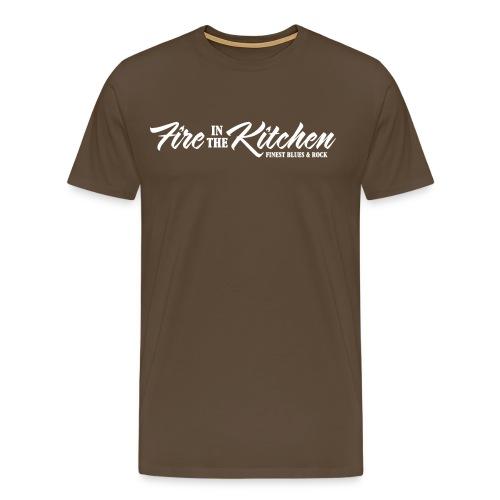 Fire In The Kitchen Clean Logo - Männer Premium T-Shirt