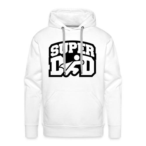 Super Dad Hoodie - Men's Premium Hoodie