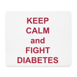 Diabetes Support Mouse Mat [Horizontal] - Mouse Pad (horizontal)