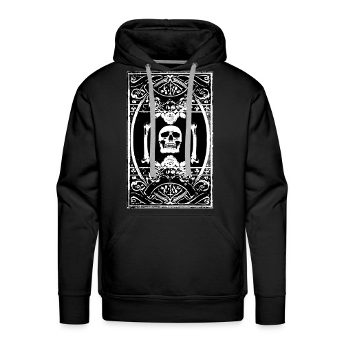 Gothic Skull Kapuzenpulli - Männer Premium Hoodie