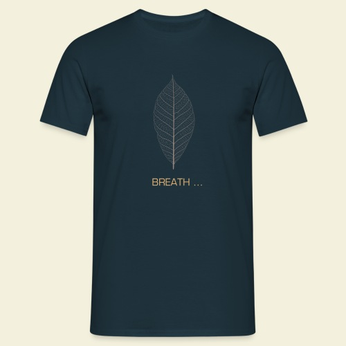 T-shirt Breath Motif beige - T-shirt Homme