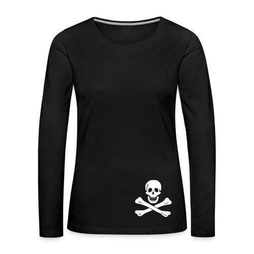 t-shirt-prés - T-shirt manches longues Premium Femme