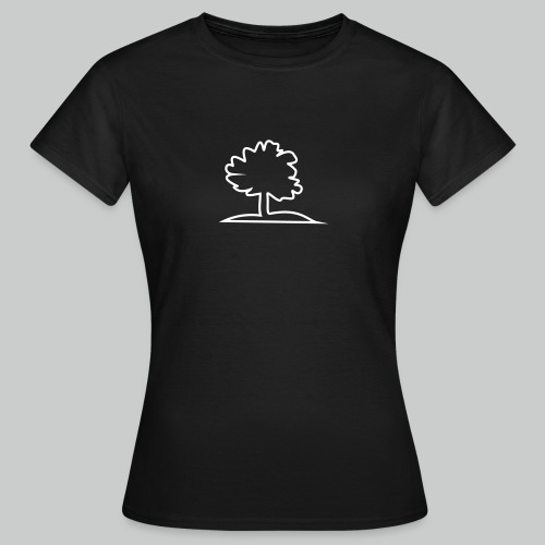 Baum - Frau - Frauen T-Shirt