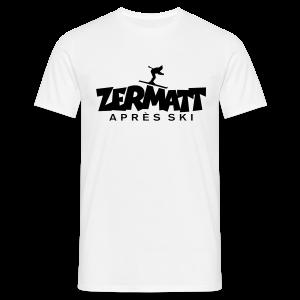 Zermatt Après-Ski T-Shirt - Männer T-Shirt