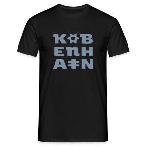 KØBENHAVN - Herre-T-shirt