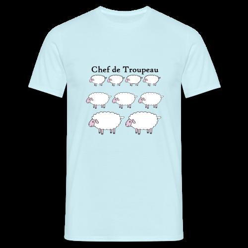 T-shirt Homme Chef de troupeau - T-shirt Homme