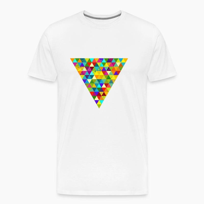 dreieck geek hipster ornament grunge regenbogen t shirt. Black Bedroom Furniture Sets. Home Design Ideas