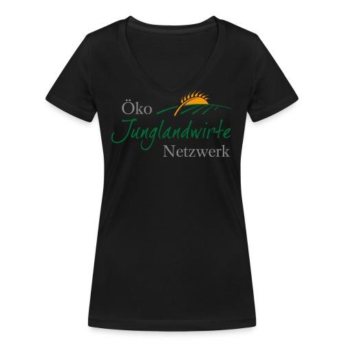 Frauen Bio T-Shirt mit V-Ausschnitt - Frauen Bio-T-Shirt mit V-Ausschnitt von Stanley & Stella